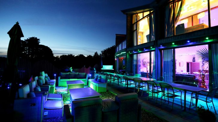 party houses to rent UK